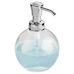 Dispensador de jabón para baño Plateado