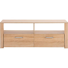 Rack de TV 55x140x42 cm oak