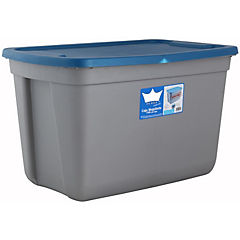 Caja organizadora 75 litros 65,4x43x39 cm gris