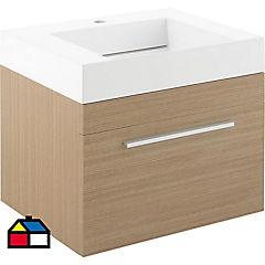 Mueble vanitorio 60x50x48 cm Café