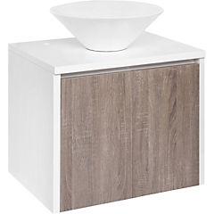 Mueble vanitorio 60x50x46 cm Blanco