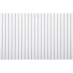 Individual 45x30 cm PVC blanco