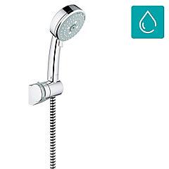 Juego de ducha con flexible plástico