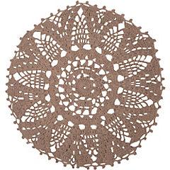 Alfombra Amorie 120 cm beige