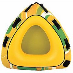 Flotador arrastre plástico amarillo