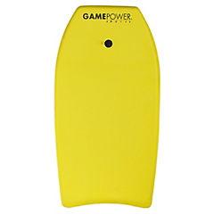 Tabla de surf goma EVA amarillo
