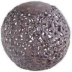 Esfera decorativa 10 cm metal