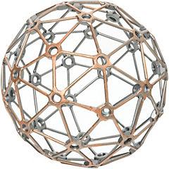 Esfera decorativa 20 cm metal