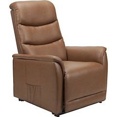 Sillón reclinable 108x77x98 cm café