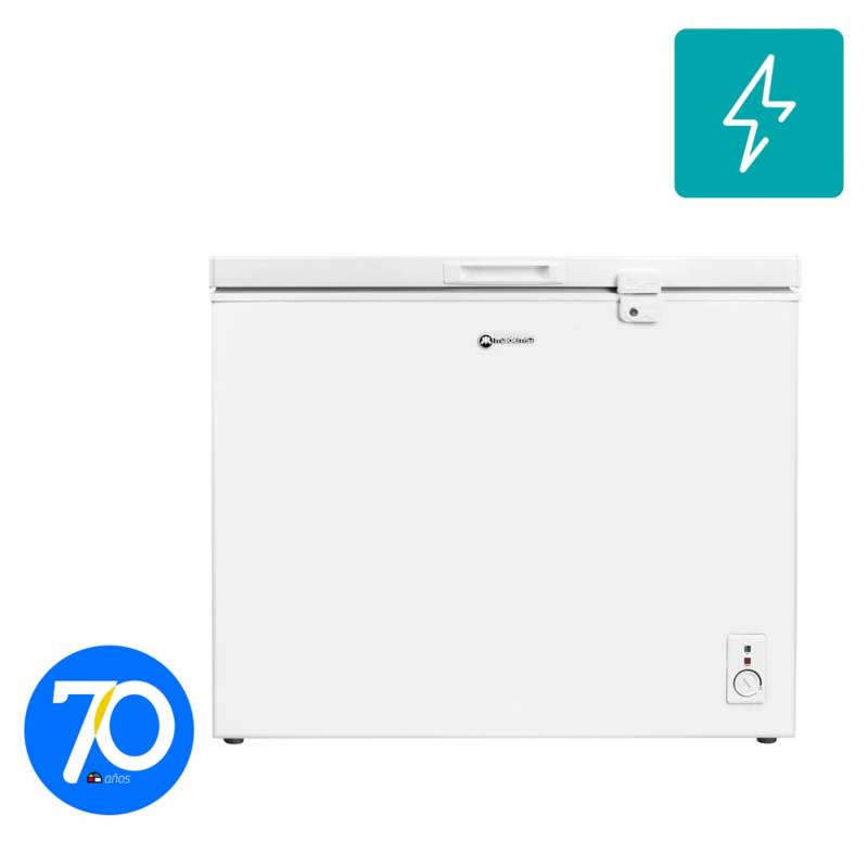 MADEMSA - Freezer horizontal 196 litros blanco