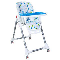 Silla de comer para bebé 106x60x83 cm azul