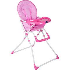 Silla de comer para bebé 101x60x73 cm rosado