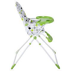Silla de comer para bebé 101x60x73 cm verde