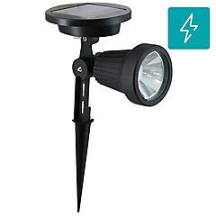 Estaca LED exterior 0,5 W Negro