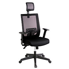 Silla para PC 67x50x133 cm negro