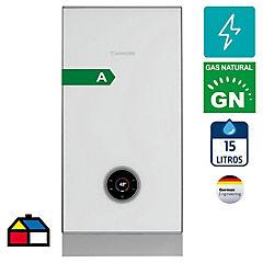 Calefón a gas natural 15 litros tiro forzado