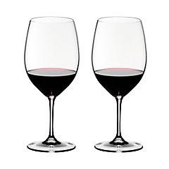 Set de copas para vino cristal 610 ml 2 unidades