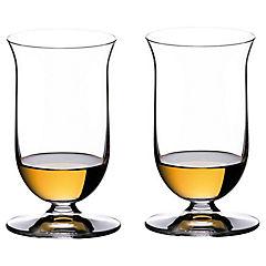 Set de copas para vino cristal 200 ml 2 unidades