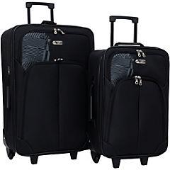 Set de maletas dakar 47 litros gris 2 unidades