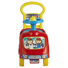 Andador carro de bomberos