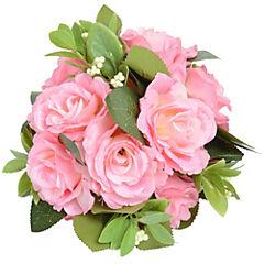 Bola de rosas artificial 16 cm Rosado