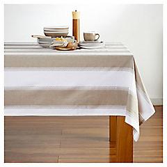 Mantel Bico multicolor blanco 200X200 cm