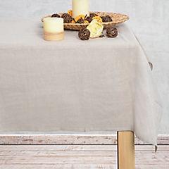 Mantel 200x200 cm algodón beige
