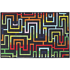 Alfombra Laberinto 80x120 cm multicolor