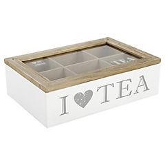 Caja para té 16x23 cm blanco