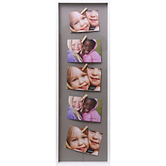 Marco de foto con 5 pinzas 72,5x24,5 cm surtidos colores