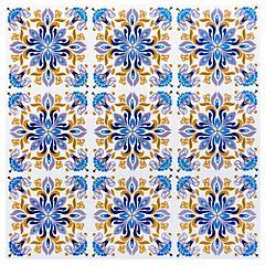 Sticker decorativo China 15x15 cm 12 unidades