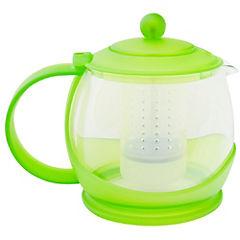 Tetera vidrio 1,2 litros verde