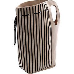 Cesto ropa con asa portátil 70x65 cm beige