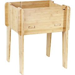 Mesa de cultivo de bambú 55x47x39 cm