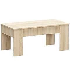 Mesa de centro 50x44x100 cm oak