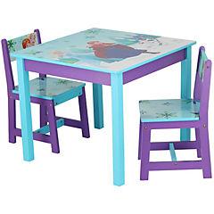 Set infantil mesa con dos sillas Frozen