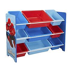 Organizador 9 cajas Spiderman