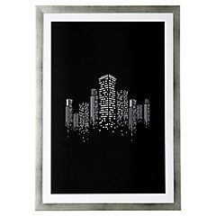 Cuadro 50x35 cm Black City