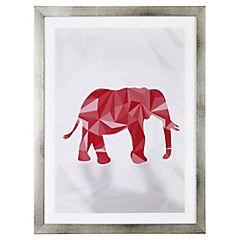 Cuadro 40x30 cm Pink Elephant