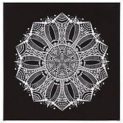 Canvas decorativo Mandala 50x50 cm