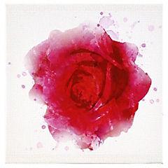 Canvas decorativo Red Rose 50x50 cm