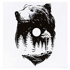 Canvas decorativo Bear Moon 60x60 cm