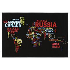 Canvas decorativo Map 60x90 cm