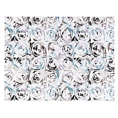 Canvas decorativo Blue Roses 75x100 cm