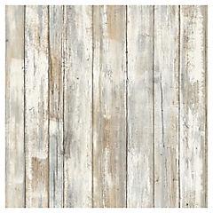 Láminas autoadhesivas Reutilizables madera tratada 52x503 cm
