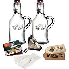 Kit para infusiones vidrio 13 piezas