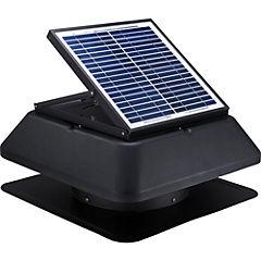 Extractor de aire solar 100 W gris