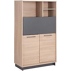 Gabinete 2 repisas 150x90x40 cm