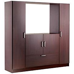 Clóset 1 cajón 4 puertas