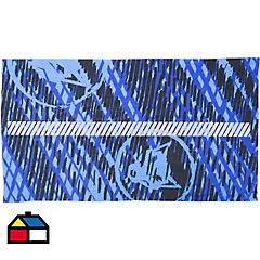 Bandana reflectante 15,4x13,4x3,7cm tela Azul